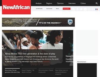 newafricanmagazine.com screenshot