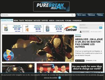 jeuxactu.com screenshot