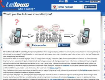 Thumbshot of Tellows.com