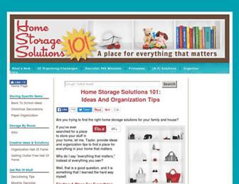 home-storage-solutions-101.com screenshot
