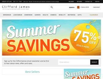 clifford-james.co.uk screenshot