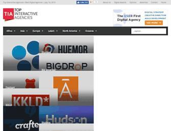 topinteractiveagencies.com screenshot