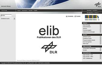 elib.dlr.de screenshot