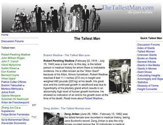 Thumbshot of Thetallestman.com