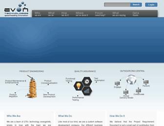 evontech.com screenshot
