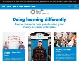 the-sse.org screenshot