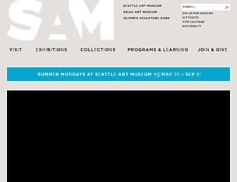 Thumbshot of Seattleartmuseum.org