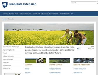 extension.psu.edu screenshot