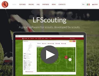 lfscouting.co.uk screenshot