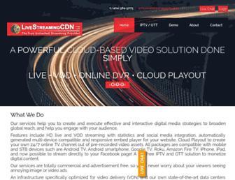 Thumbshot of Livestreamingcdn.com