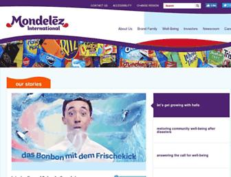 mondelezinternational.com screenshot