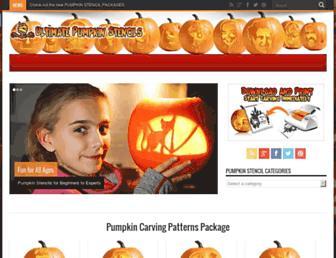 Thumbshot of Ultimate-pumpkin-stencils.com