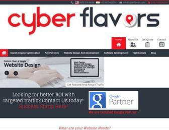 Thumbshot of Cyberflavors.com