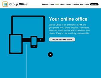 Thumbshot of Group-office.com