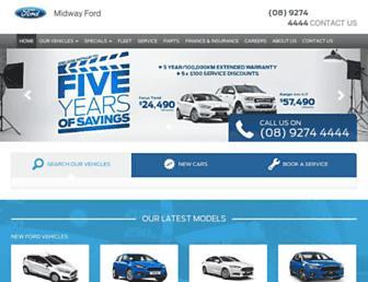 midwayford.com.au screenshot