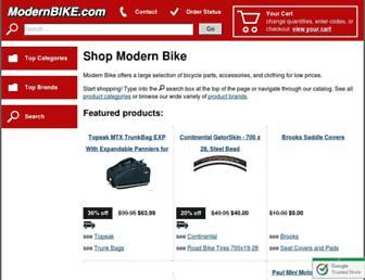 modernbike.com screenshot