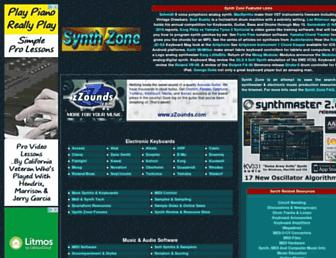 Thumbshot of Synthzone.com