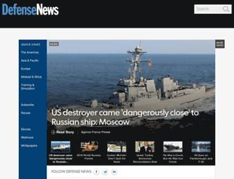 defensenews.com screenshot