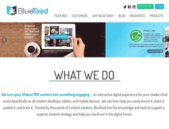 Thumbshot of Bluetoad.com