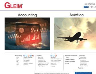 gleim.com screenshot
