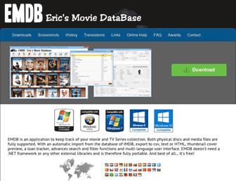 emdb.eu screenshot