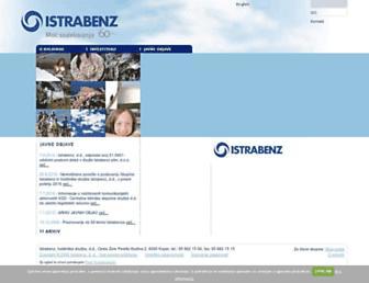 istrabenz.si screenshot