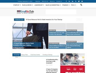 smallbizclub.com screenshot
