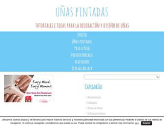 unaspintadas.com screenshot