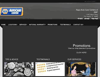 napaautocareswf.com screenshot