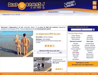 diaporamas-a-la-con.com screenshot