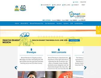 bharatpetroleum.com screenshot