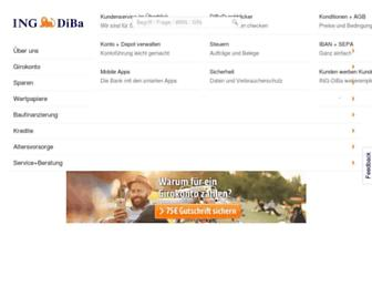 Thumbshot of Ing-diba.de