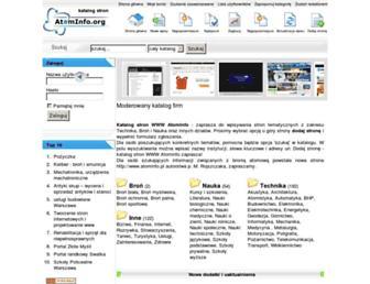 atominfo.org screenshot