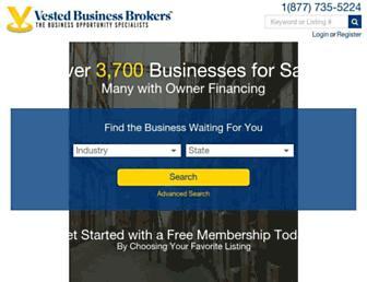 vestedbb.com screenshot