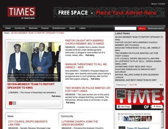 times.co.sz screenshot