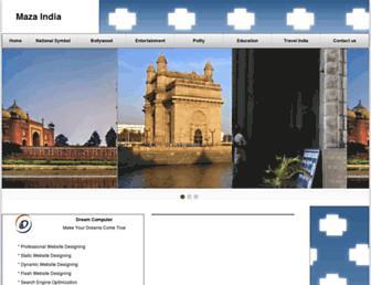 mazaindia.com screenshot