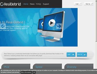 real-debrid.com screenshot