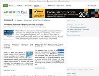 Thumbshot of Malwarehelp.org