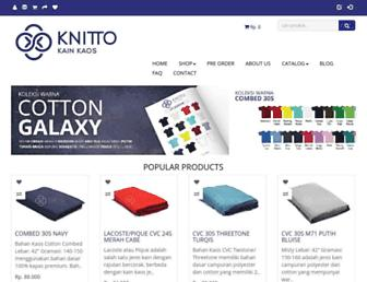 knitto.co.id screenshot