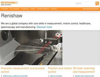 renishaw.com screenshot