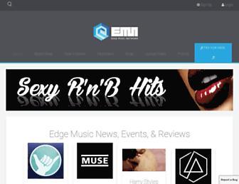 edgemusic.com screenshot
