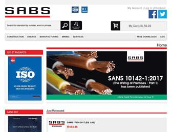 store.sabs.co.za screenshot