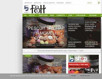 Main page screenshot of pvtv.ro
