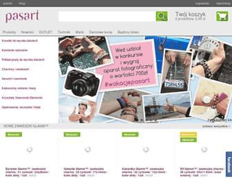 pasart.pl screenshot