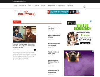 Thumbshot of Kollytalk.com