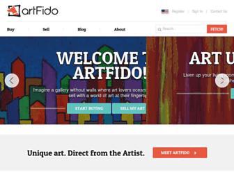 Thumbshot of Artfido.com