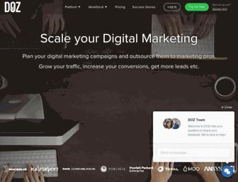 doz.com screenshot