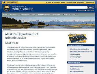 doa.alaska.gov screenshot
