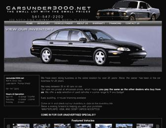 carsunder3000.net screenshot
