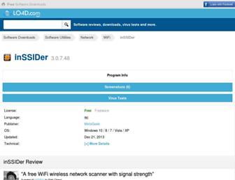 inssider.en.lo4d.com screenshot